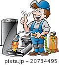 修理 男 男性のイラスト 20734495