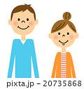 若い夫婦 20735868