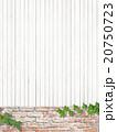 背景 壁 若葉のイラスト 20750723