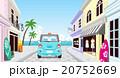 自動車 ドライブ 海辺のイラスト 20752669