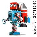 ロボット ロケット レトロのイラスト 20753340