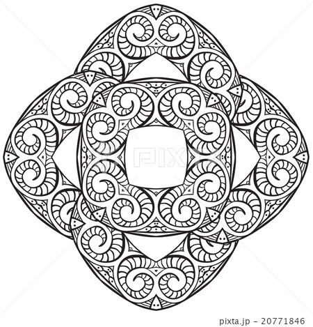 Hand drawn ornamentのイラスト素材 [20771846] - PIXTA