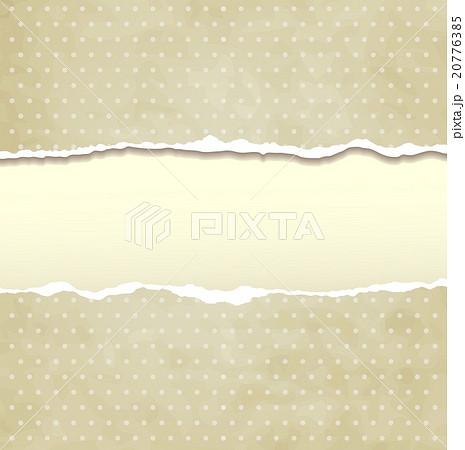 Tear paperのイラスト素材 [20776385] - PIXTA
