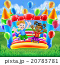 Cartoon Kids Bouncy Castle 20783781