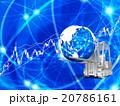 フォークリフトで地球の株式市場を運ぶ 20786161
