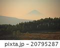 富士山遠望 霧ヶ峰高原より 20795287