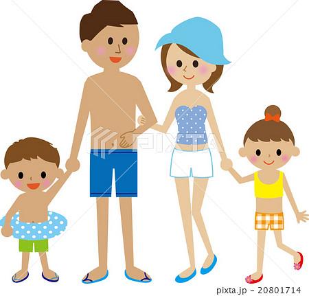 家族 水着 20801714