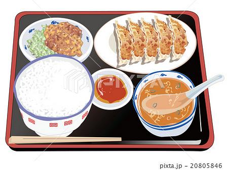 餃子定食 20805846