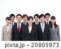 ビジネスマン ビジネスウーマン 笑顔の写真 20805973