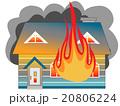 家の火災 20806224