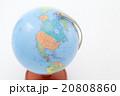 アメリカ大陸が写っている地球儀 20808860