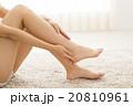 女性 ビューティー 脚 20810961