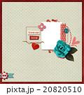 Beautiful layout  デジタルスクラップブックのレイアウト 20820510