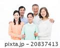家族 三世代 笑顔の写真 20837413