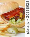 おいしいチーズバーガー 20838628