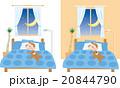 子供 寝室のイラスト 20844790