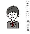男性 ベクター ビジネスマンのイラスト 20844830