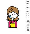 泣く【シンプルキャラ・シリーズ】 20845451