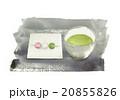 茶菓子 だんご 三色団子のイラスト 20855826