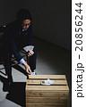 ビジネスマン トランプ 男性の写真 20856244