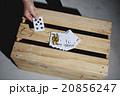 トランプ 男性 カードゲームの写真 20856247