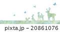動物のイラスト 20861076