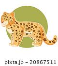 Cartoon smiling Jaguar 20867511