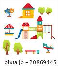 Children Playground Vector Illustration 20869445