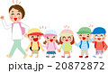 子供 小学生 ピクニック 遠足 20872872