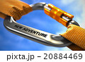 New Adventure on Chrome Carabiner between Orange 20884469