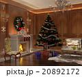 クリスマス 空間 部屋のイラスト 20892172