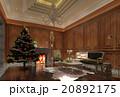 クリスマス 空間 部屋のイラスト 20892175
