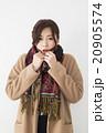 女性 若い コートの写真 20905574