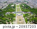 パリ( paris ) エッフェル塔からの眺望 20937203