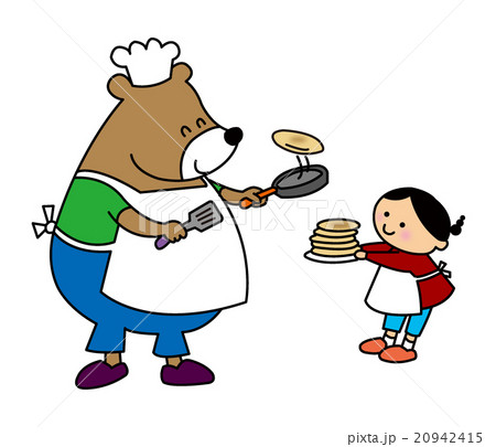 くまさんパンケーキ 20942415