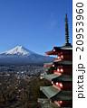富士山 新倉浅間神社 忠霊塔の写真 20953960