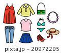 衣類 水着 衣服のイラスト 20972295