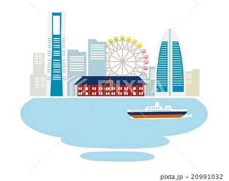 横浜のイラスト素材 20991032 Pixta