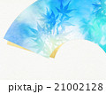 背景素材 和紙 葉のイラスト 21002128