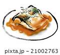魚料理 鯖の味噌煮 鯖のイラスト 21002763