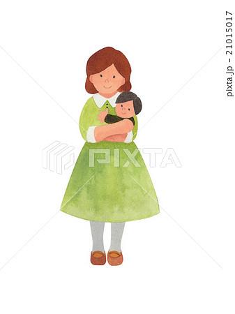ママ 赤ちゃん 21015017