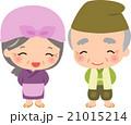日本の昔話のおじいさんとおばあさん 21015214