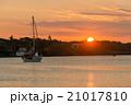 クト湾に沈む夕日 (ニュー・カレドニア、イル・デ・パン) 21017810