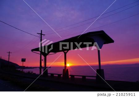 瀬戸内の夕焼け 21025911