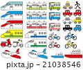 シンプル 乗り物の絵 21038546