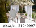 アーチ 挙式 ガーデンの写真 21049997