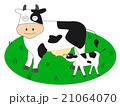 ベクター 動物 牛のイラスト 21064070
