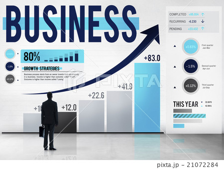 Business Analysis Global Business Marketing Conceptの写真素材 [21072284] - PIXTA