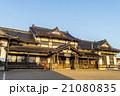 夕陽に輝く旧大社駅 21080835
