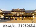 夕陽に輝く旧大社駅 21080838
